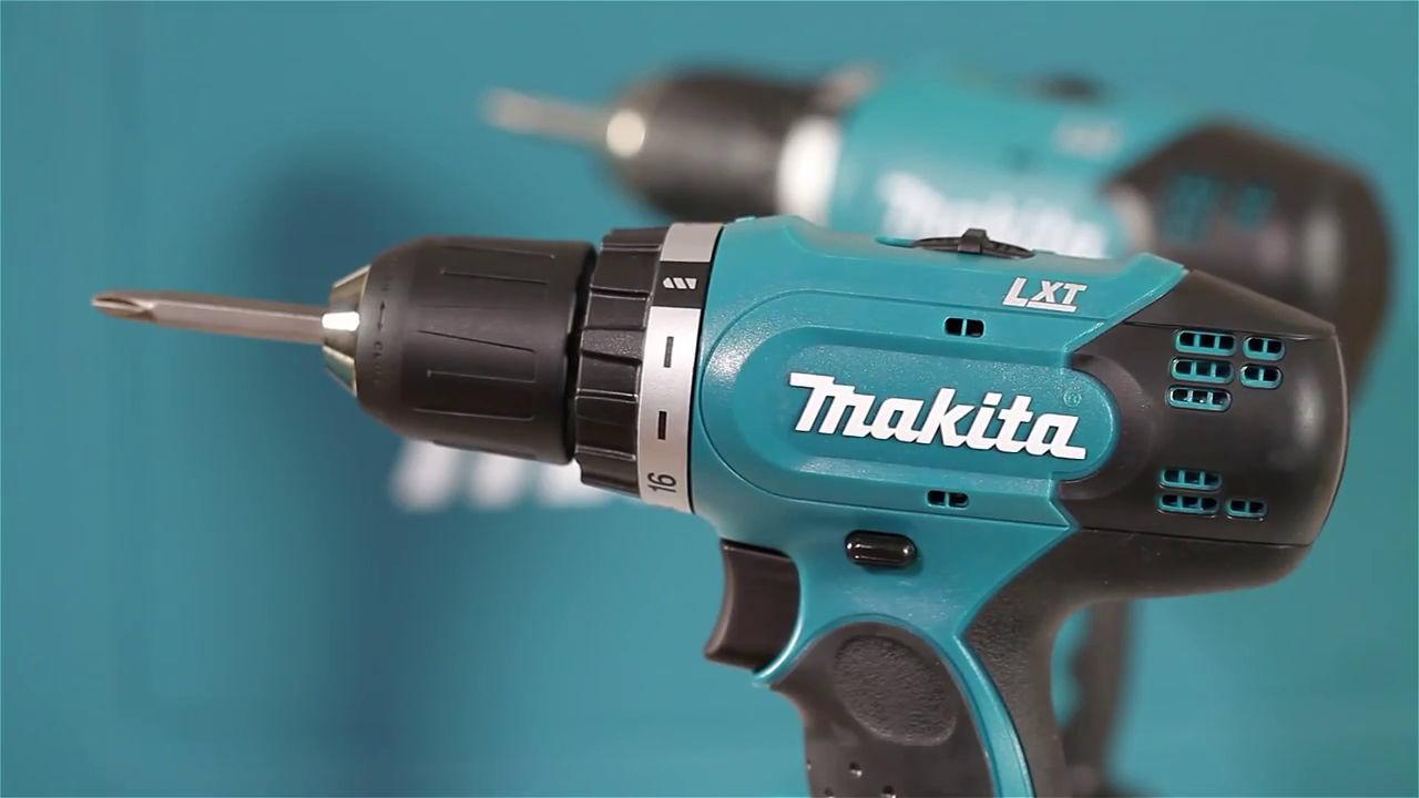 Máy khoan, vặn vít dùng pin Makita DDF343RFE