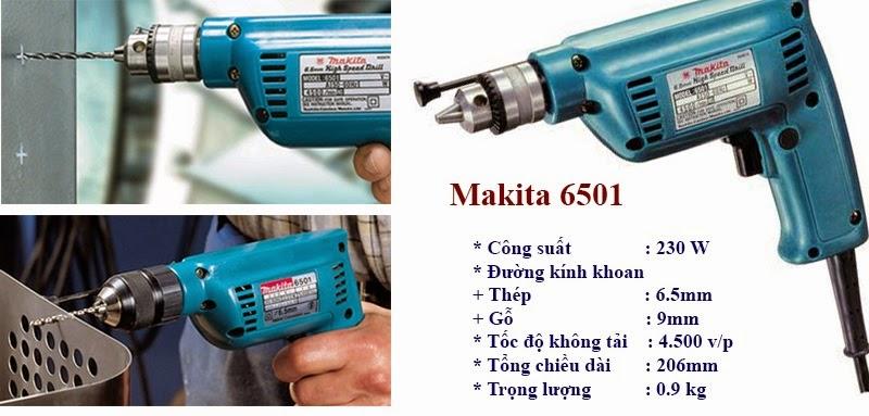 Máy khoan tốc độ cao Makita 6501 230W