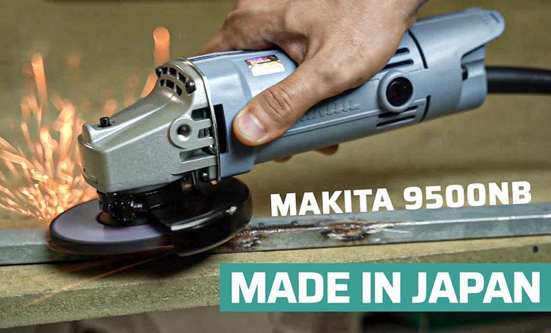 Máy mài góc Makita 9500NB 570W (Công tắc đuôi)