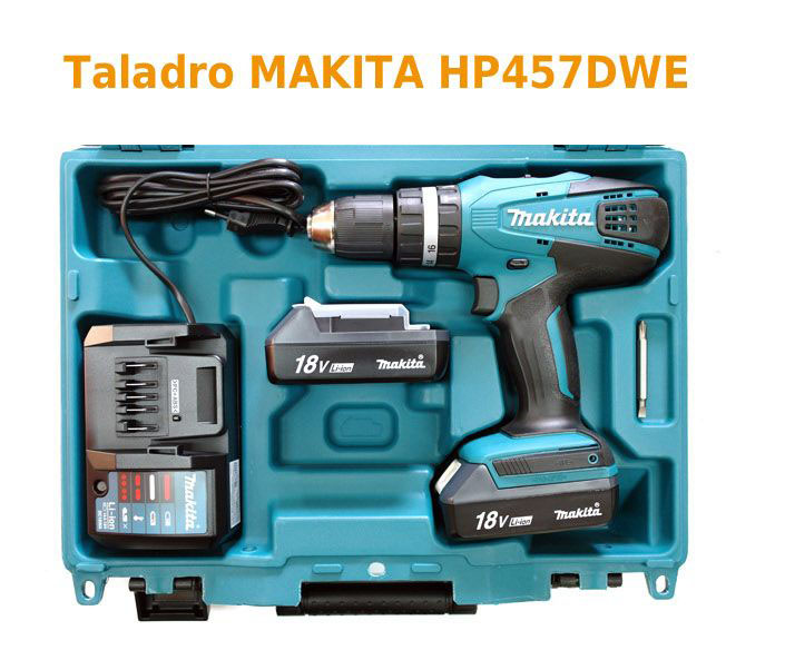 Những điều đặc biệt của máy khoan pin Makita HP457DWE